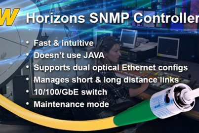 ViaLite Horizons SNMP Controller - main benefits