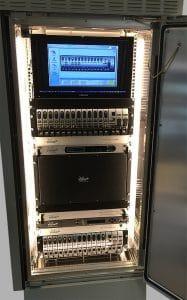 Example Long Distance DWDM Link System setup