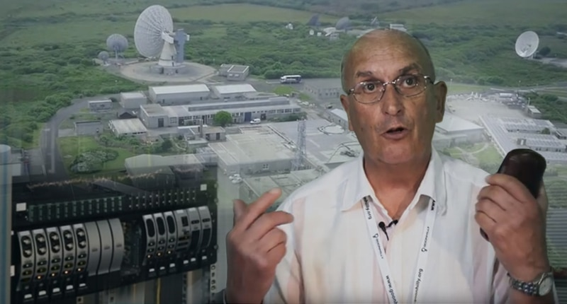 Goonhilly Earth Station installs RF over Fiber