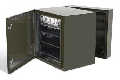 ViaLite Outdoor Enclosure C (painted in army green)