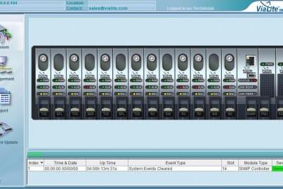 ViaLite SNMP 3U GUI