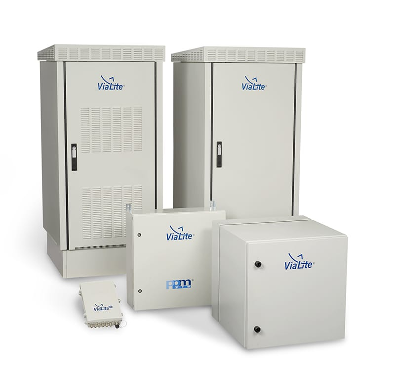 Outdoor Enclosures Vialite Communications