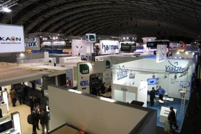 The ViaLite stand in Hall 1 at IBC 2014
