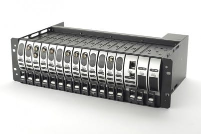 VialiteHD 3U Rack Chassis (populated)