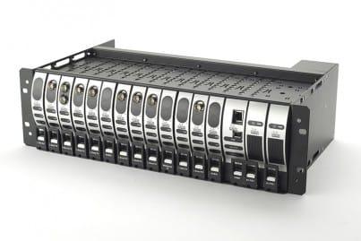 VialiteHD 3U Rack Chassis (populated)