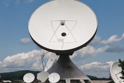 Raisting Earth Station in Germany