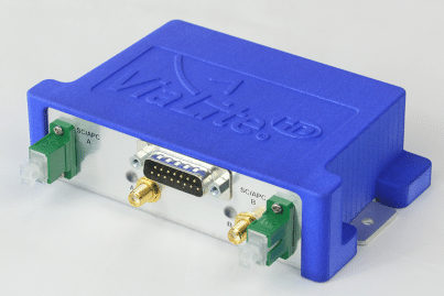 RF over Fiber Blue2 Link (angled view showing right side)