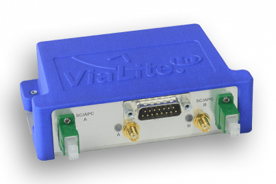 ViaLite RF over Fiber Blue2 Link, 15-Way
