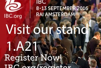 Visit the ViaLite stand at IBC (1.A21) IBC image