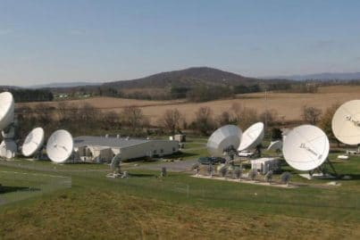 Telesat, Mount Jackson Teleport, USA