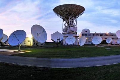 Eutelsat's Rambouillet Teleport near Paris (cropped version)