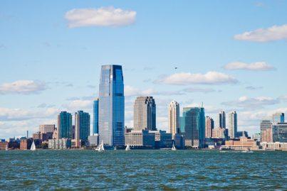 New Jersey skyline, USA