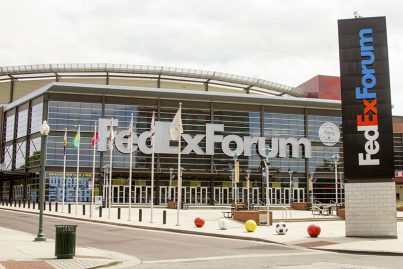 FedExForum in Memphis, USA