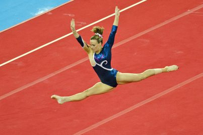 Gymnast at the Commonwealth Games 2014