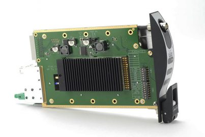 L-Band HRT - HWDR Link, rack chassis card side-view
