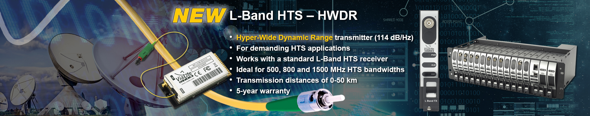 New ViaLite L-Band HTS - HWDR slider