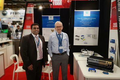 Amair Khan, ViaLite and Charif Nasrallah, Eurosatcom