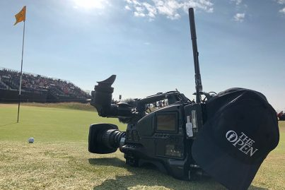The Open 2018 (wireless camera)