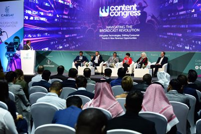 CABSAT conference session - panel