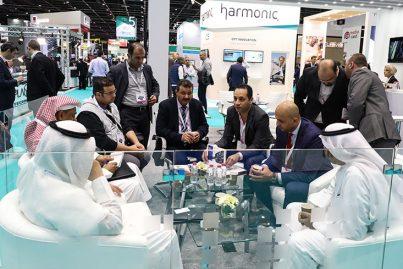 Meeting at CABSAT, Dubai