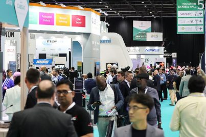 Busy floor at CABSAT