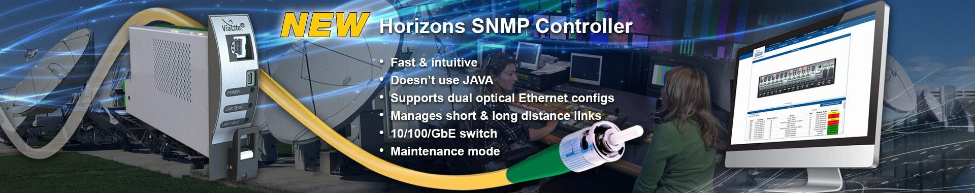 ViaLite Horizons SNMP slider