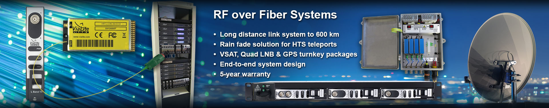 ViaLite RF Systems slider