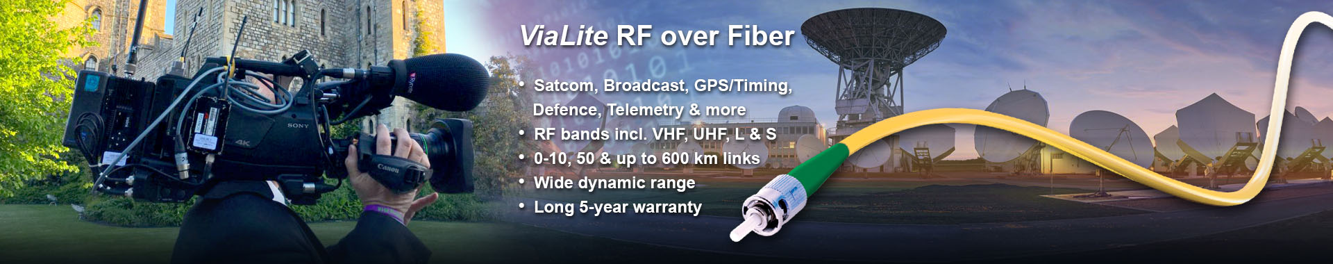 ViaLite RF over fiber slider 2019 version