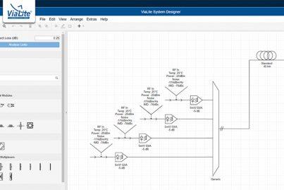 ViaLite System Designer tool - example system design