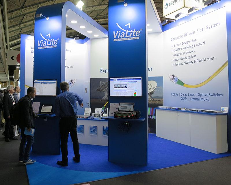Visitors Flock to <em><strong>ViaLite</em></strong> Stand at IBC