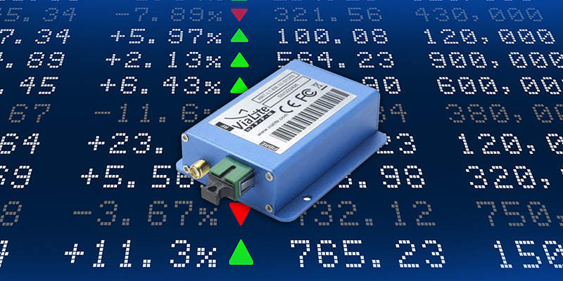 All in the Timing: <em><strong>ViaLite</em></strong> Distributed GPS Systems for NASDAQ Stock Exchange