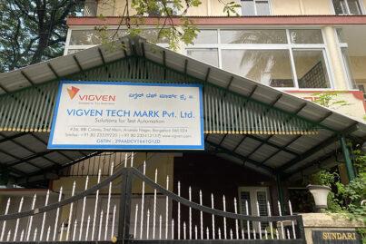 VigVen's building in India