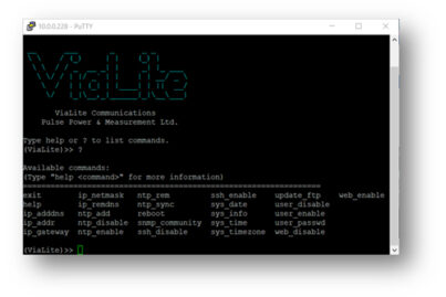 PuTTY command line prompt