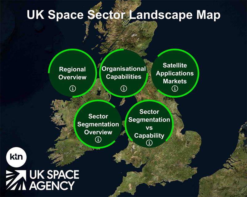 UK Space Sector Landscape Map