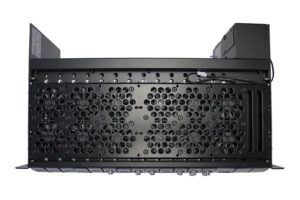 3U Chassis Fan Option Top View
